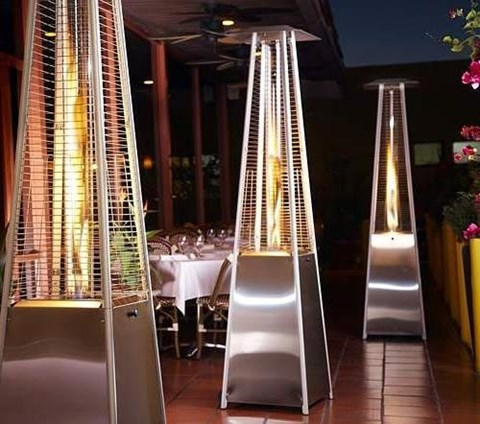 Stainless Steel Gas Patio Heater image