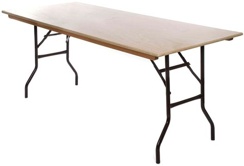 Trestle Table 4 ft image
