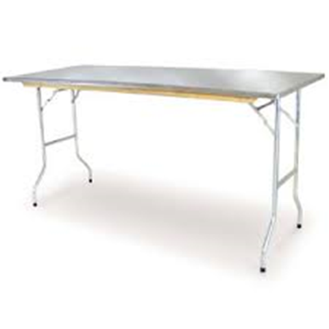 Trestle Table Stainless Steel image