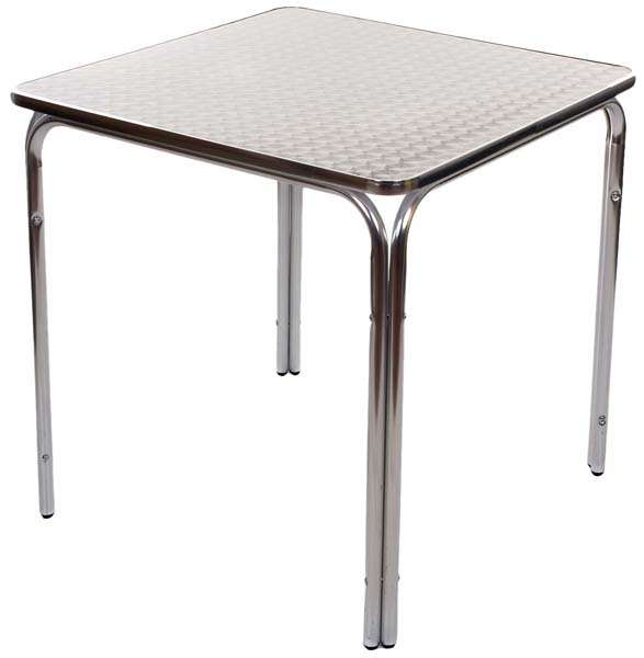 Aluminium Alfresco Table image