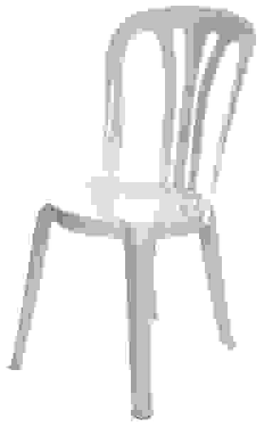 Bistro Chairs White Plastic Alexander Equipment Hire