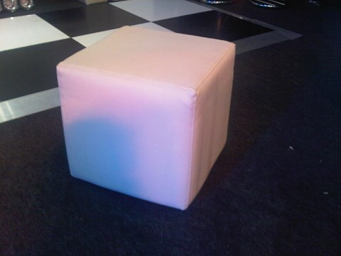 Cream Leather Cubes image