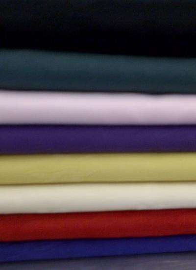 "Coloured Linen 108"" Round image"