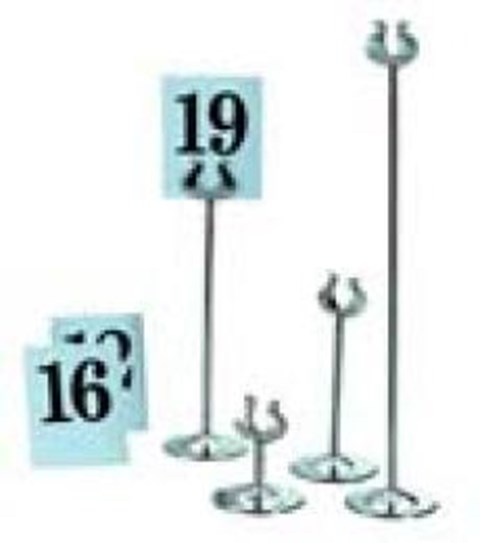 "Table Number Stands 18"" (Including Numbers) image"