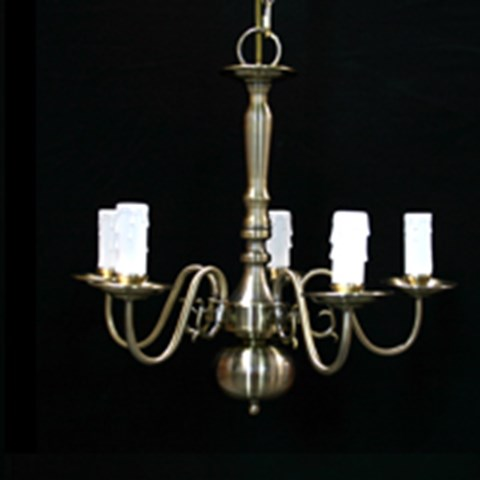 5 Arm Chandeliers image