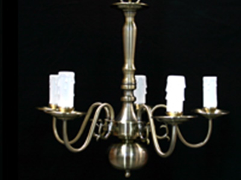 5 Arm Chandeliers