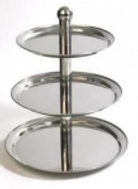 Stainless Steel 3 Tier Cake Stand image