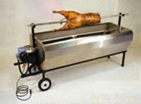 Spit / Hogroast For Meat Weight Up To 100 lb image
