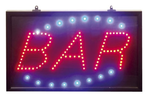 Large LED Bar Sign image