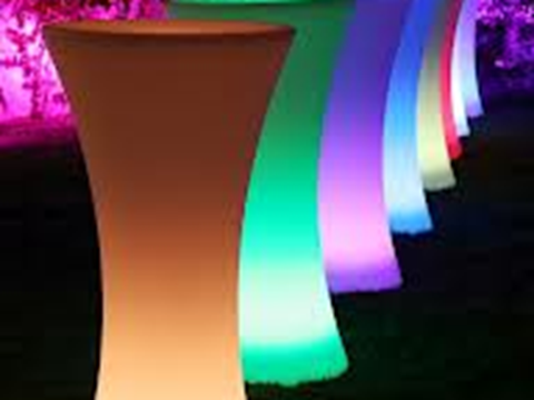 Wireless LED Poseur Tables image