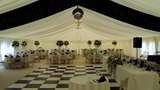 Black And White Dancefloor And Starcloth