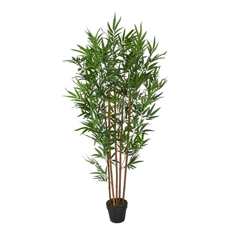 Large Artificial Bamboo Tree Indoor Replica Potted Plant image