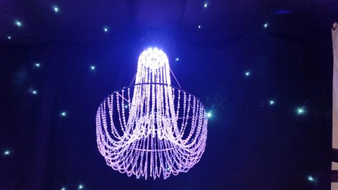 LED Colour Changing Chandelier image