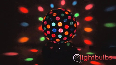 Rotating Disco Ball image