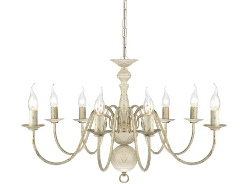 8 Arm Traditional Allingham Chandelier image