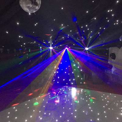 Disco Marquee In Frimley 15th October 2016