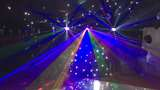 Disco Marquee With LED Dancefloor and Starcloth